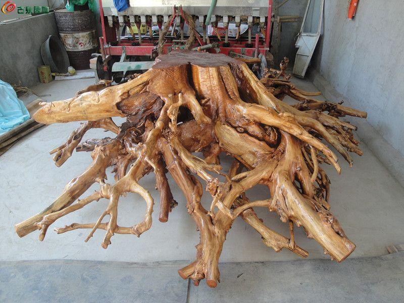 本地所出香椿木根雕 漂亮够大 竹木石书邮