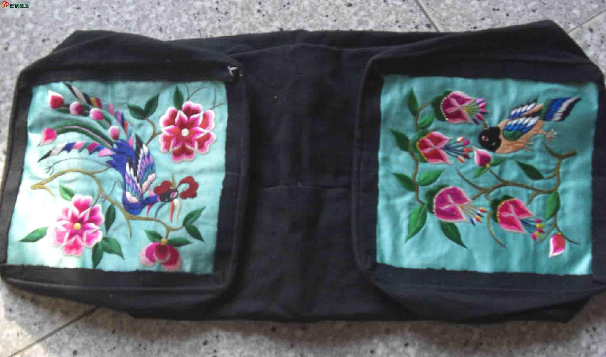 东北刺绣枕头顶三个图片